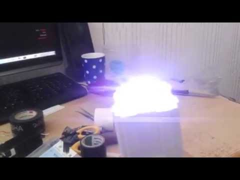 Homemade taser high output power