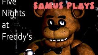 Samus Plays Five Nights At Freddy