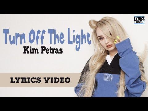 Kim Petras Feat. Elvira - Turn Off The Light (Lyrics Video)