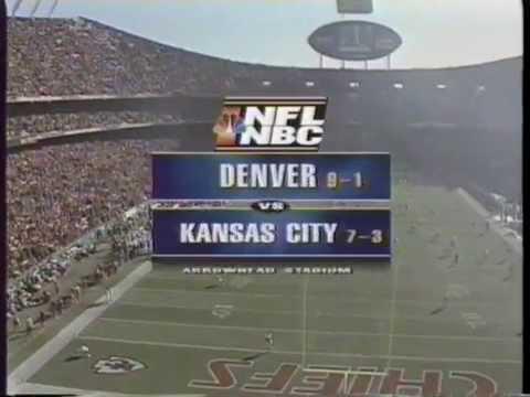 1997 NFL on NBC Intro (Denver vs Kansas City Chiefs)