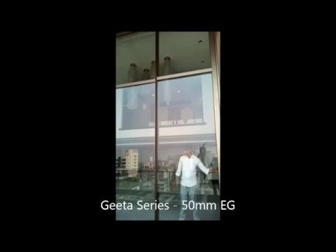 Geeta Series - 50mm EG Sliding Window
