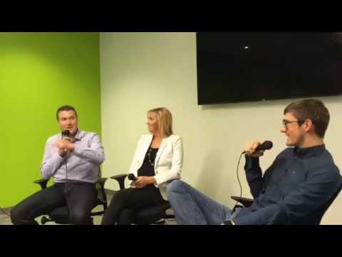 Johnny And Paige Hannah (Property Solutions / Homie.com) at Startup Grind Utah