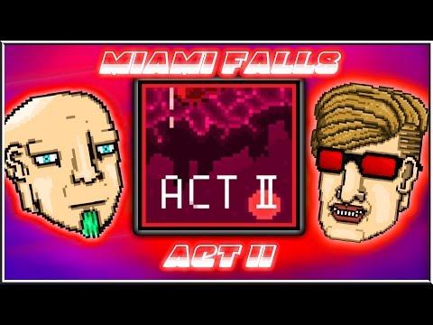 Miami Falls - Act 2 | Hotline Miami 2 Level Editor [FULL CAMPAIGN]