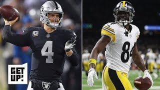 Will Antonio Brown end up on the Raiders? | Get Up!