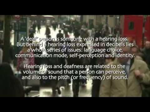 I Am a Deaf Person