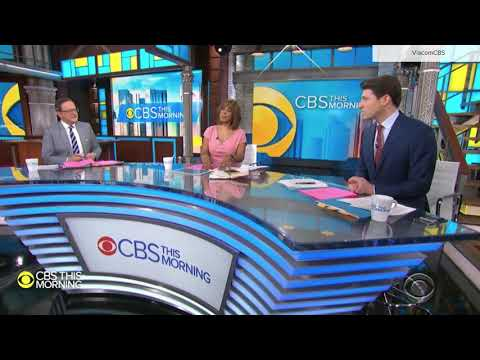 """CBS This Morning"" Coronavirus Teases And Open From Ed Sullivan Theater March 19, 2020"