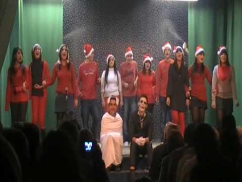 Obra Pesadilla Antes De Navidad Versionada Por Academia Cultura Act 2 Y 3 Youtube