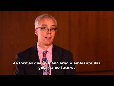 Eric Thompson, from CNA, talks about the Workshop on Future Wars held in Brasília in 2014