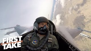 'Absolutely incredible': What it's like to fly in an F-16 | First Take