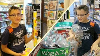 VLOG - Le Shopping d'Anniversaire de Néo pour Swan