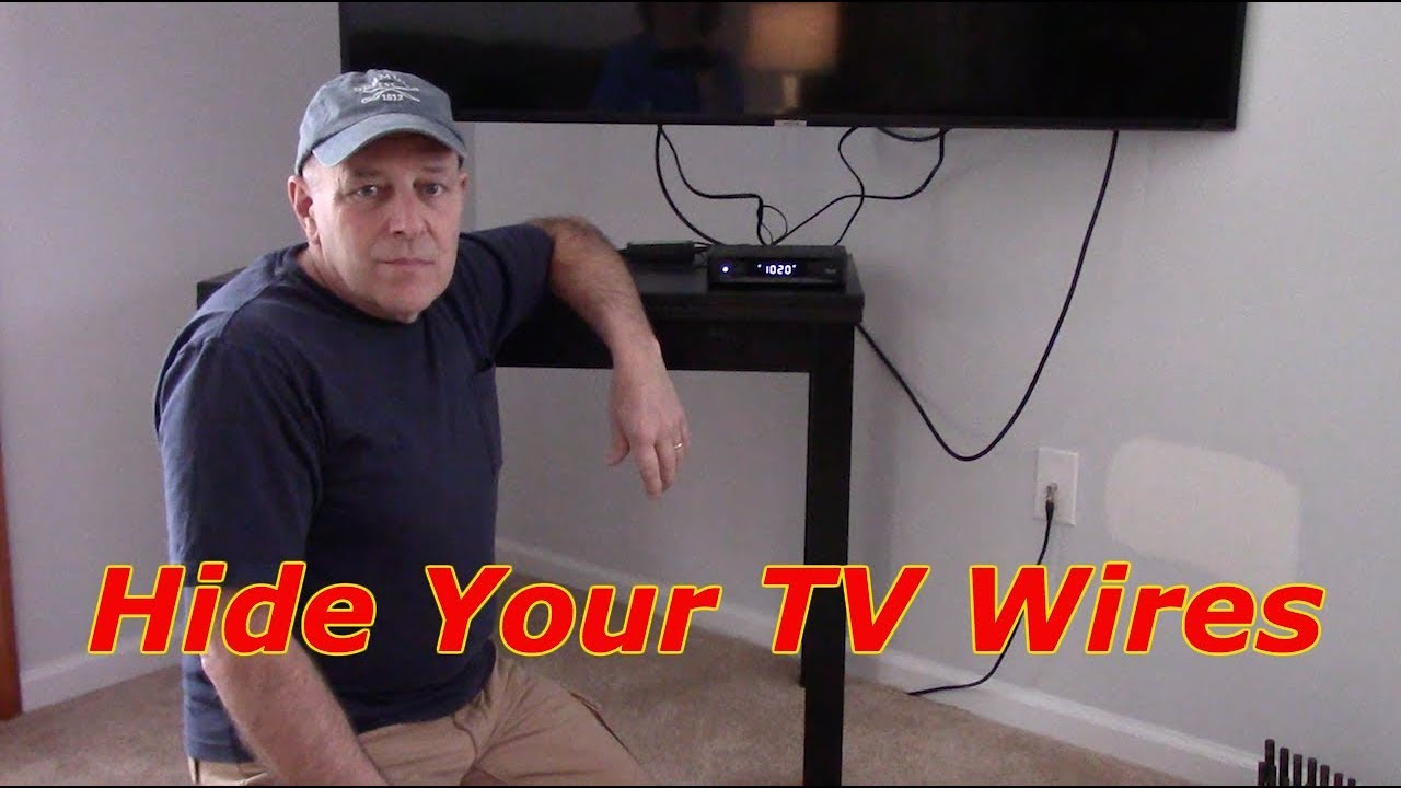 How To Mount A Cable Box Amp Hide The Wires In The Wall