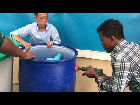 How To Setup Small RAS System | Aquarium Tank System