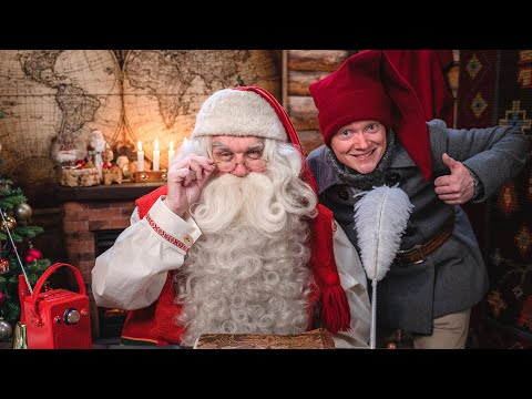 Foto Degli Elfi Di Babbo Natale.Babbo Natale Il Segreto Degli Elfi Di Santa Claus Lapponia Finlandia Rovaniemi Video Per Bambini