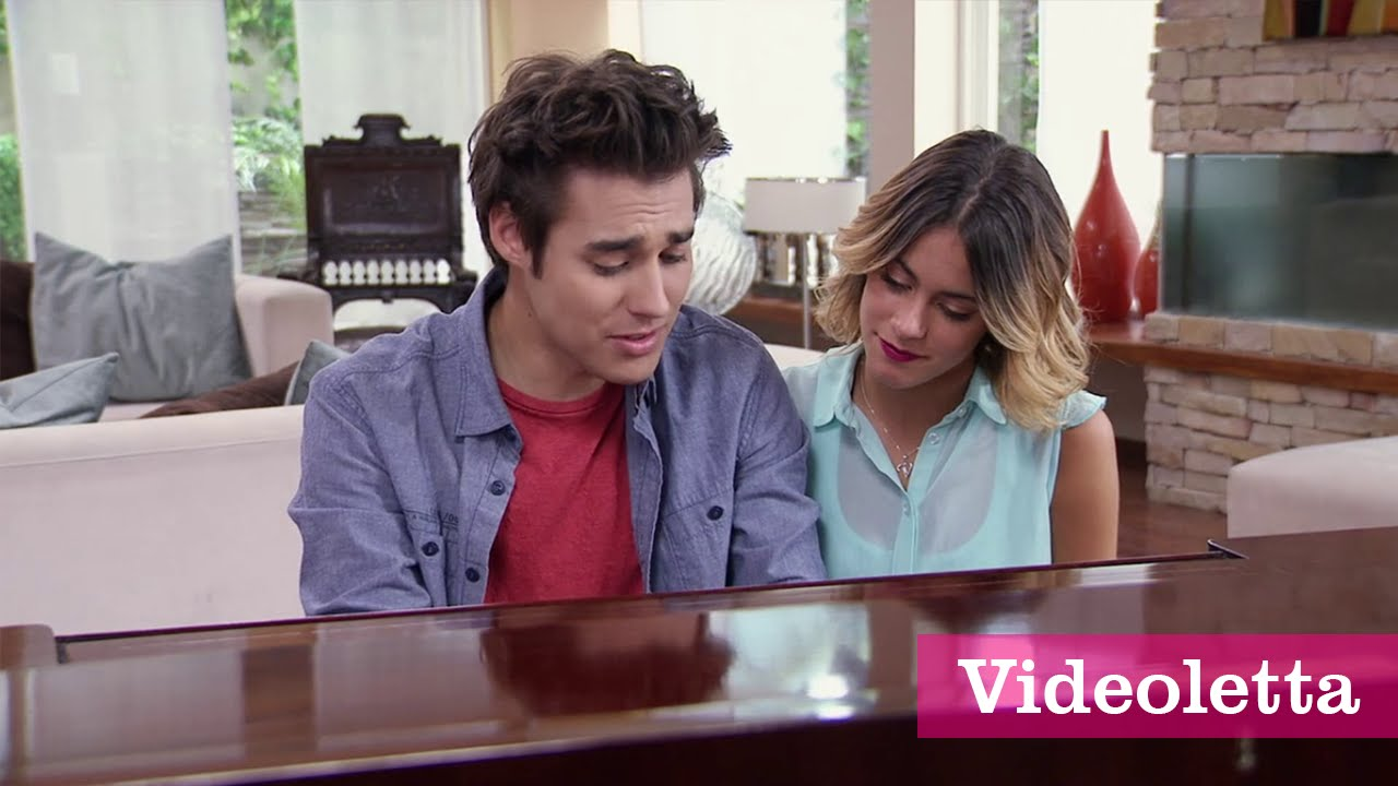 """Download Violetta 3 English: Leon sings """"Love is in the air"""" to Vilu Ep.69"""