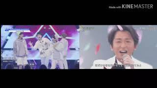 ARASHI produce 101 japan Happiness グループバトル(group battle)