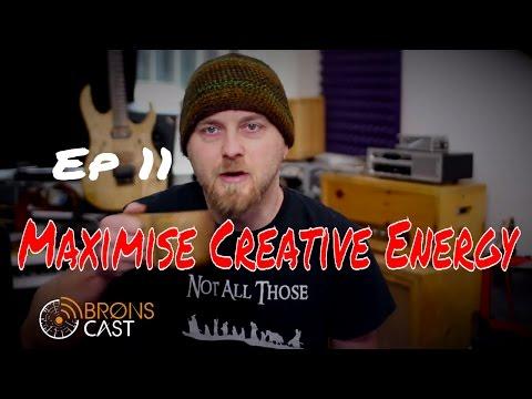 BronsCast Ep11 Maximise Creative Energy