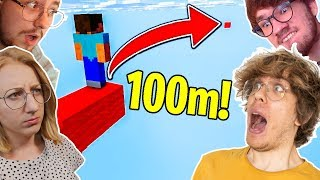 Minecraft PARKOUR vs POLSCY YOUTUBERZY!