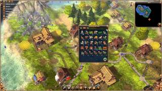 The Settlers 2: Vikings - Mission 1 - Walkthrough Gameplay PC