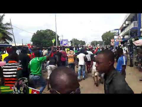 La marche de 6 Septembre au Togo en direct a lomé capital