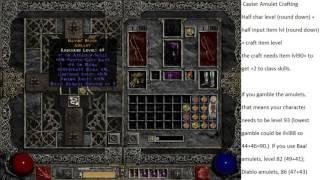 Diablo 2: Caster Amulet Crafting