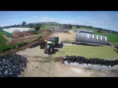 Maize Harvest 2017 New Zealand John Clark Contracting