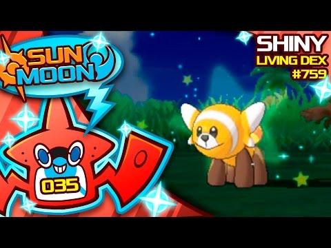 ALMOST 1000 ENCOUNTERS!! SHINY STUFFUL!! Quest For Shiny Living Dex #759 | Sun Moon Shiny #35