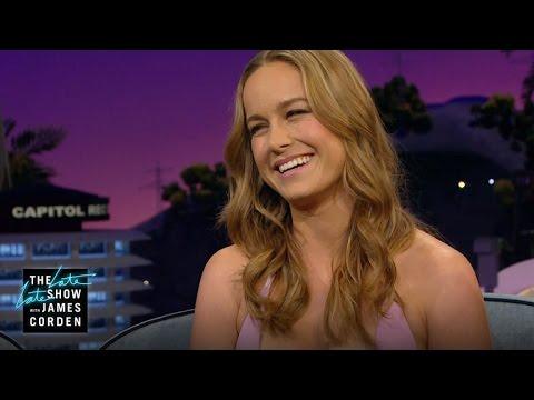 Brie Larson Helps Billy Bob Thornton & Jack Whitehall Pick Spirit Animals