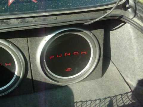 Two 15 Rockford Fosgate Punch P1 S