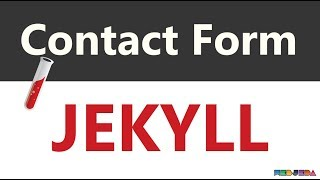 How to create a working contact form in Jekyll - Tutorial 5