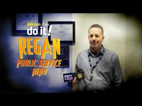 Public Service Hero - REGAN