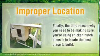 Chicken Coop Plans And Designs Tips - Free Tips To Build Diy Chicken Hutch In Your Backyard