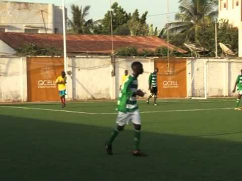 Father Cough Academy: Soccer footage from The Gambia
