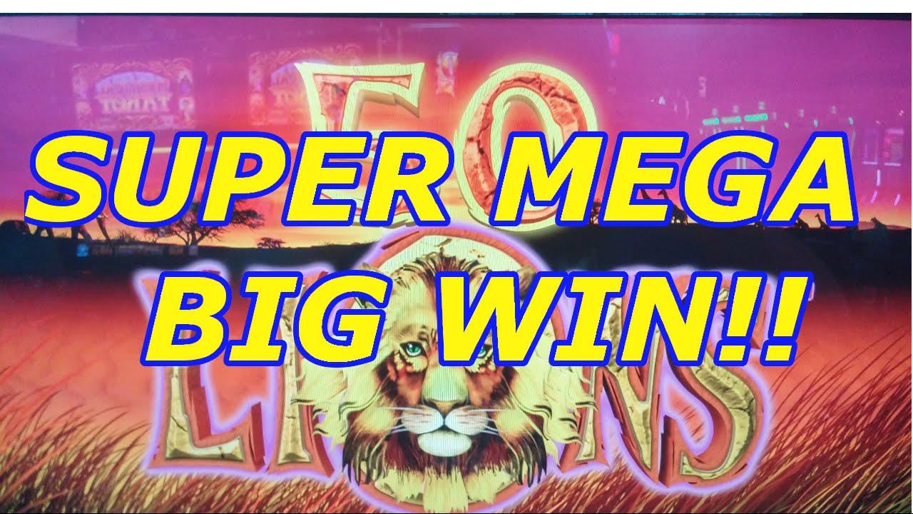 Super mega big win 50 lions deluxe youtube for Palazzi super mega