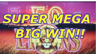 **SUPER MEGA BIG WIN!!** 50 LIONS DELUXE!!
