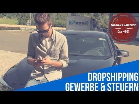 DROPSHIPPING |GEWERBE & STEUERN |DAY#007 thumbnail