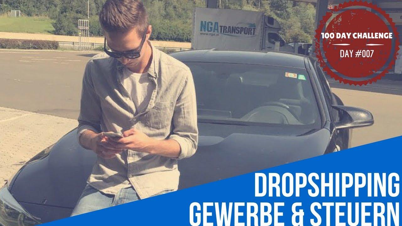 DROPSHIPPING |GEWERBE & STEUERN |DAY#007