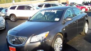 2011 Buick Regal CXL Gray Art Gamblin Motors Jim Wiseman 11149