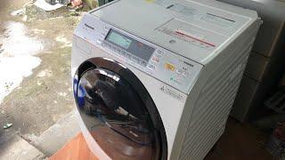 280920...Like new... Máy giặt nội địa Nhật Panasonic NA-VX7800 date 2018(tem xịn)...0936678886