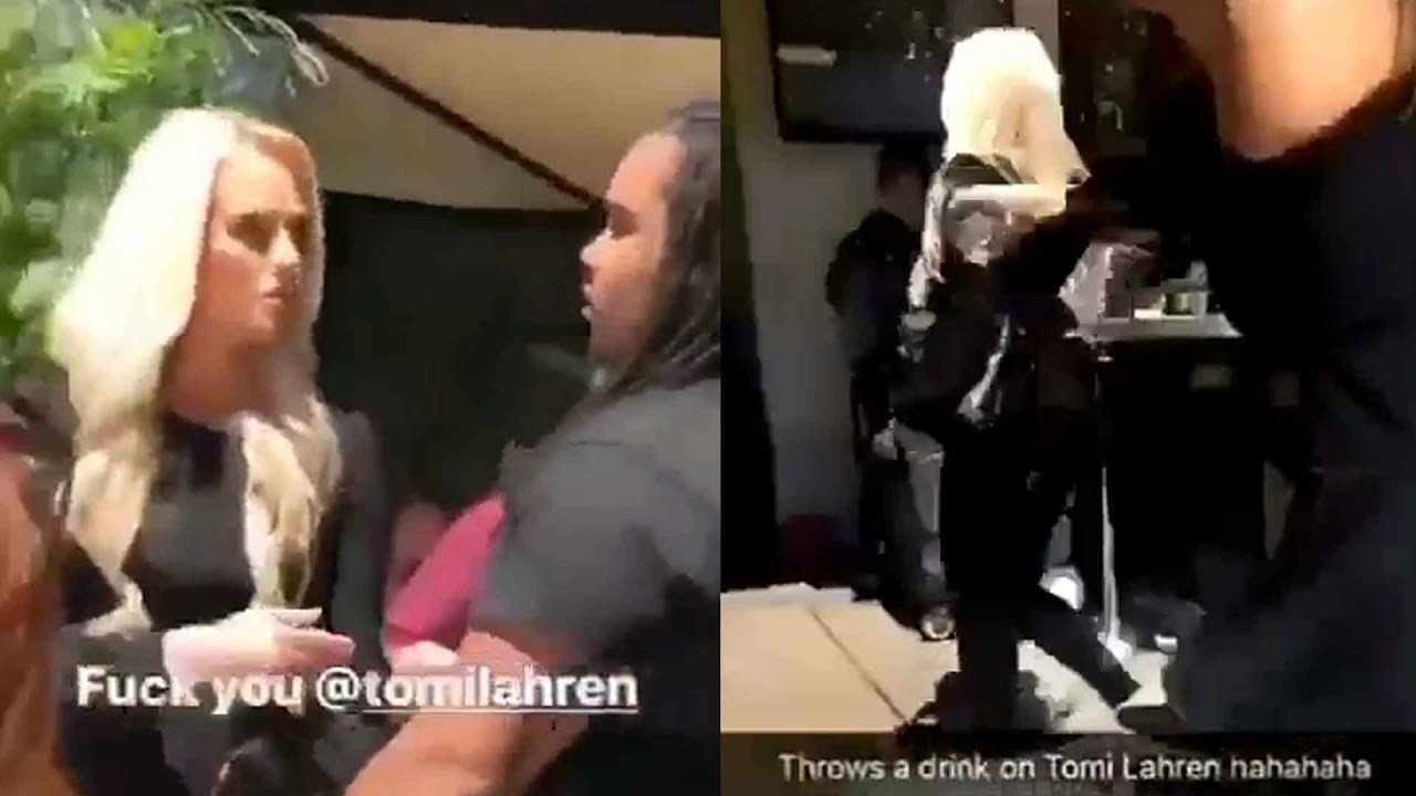 Tomi Lahren on drink being thrown at her: 'These things embarrass and humiliate me'