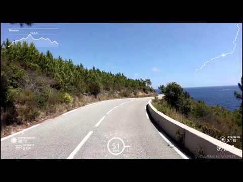 One of the most beautiful roads in the world Cote d'Azur (HD)