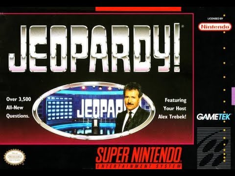 SNES Jeopardy! ORIGINAL RUN Game #19