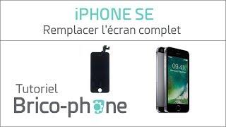 Tutoriel iPhone SE : remplacer le bloc écran complet (tactile + LCD)  HD