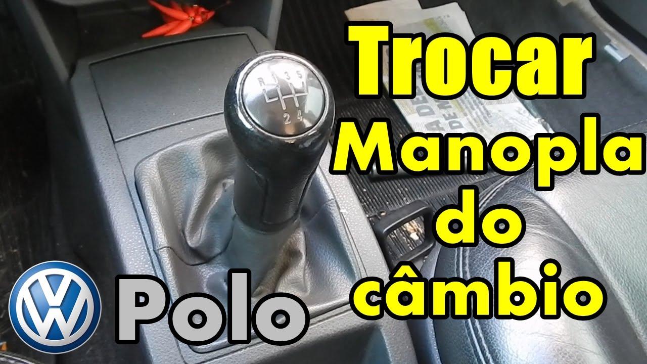 Como fazer: Trocar coifa/manopla VW Polo