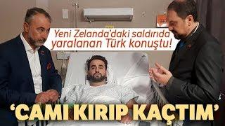 Yeni Zelanda'daki Cami Saldırısında Yaralanan Türk Konuştu