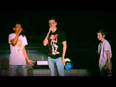 Logic Gang Related (two kids rap for logics hat)
