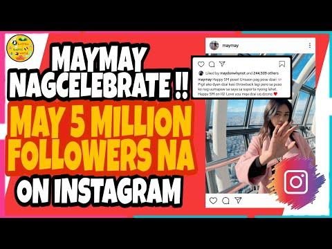 Maymay, 5 Million na ang Followers sa Instagram!