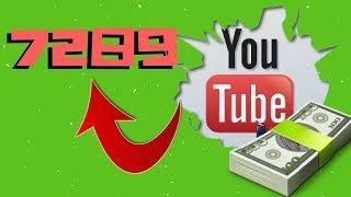 7289 ДОЛЛАРОВ ! Как заработать деньги на youtube ? Как начать зарабатывать на Ютубе с нуля