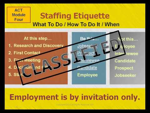 Jobseeker Success Mindset Training:  eLearning To Reduce Unemployment