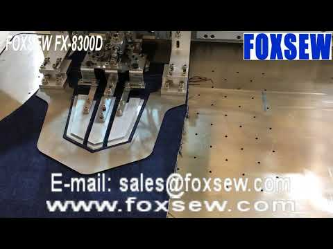 Automatic Iron Free Pocket Setter Sewing Unit