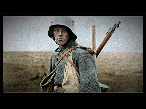 exploring-a-german-trench,-eastern-front-1914---1917-(latvia)